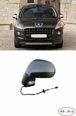 Peugeot 3008 2009-/> Door Mirror Electric Primed P//Fold N//S Passenger Left