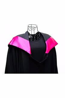 QUT Creative Industries Graduation Gown