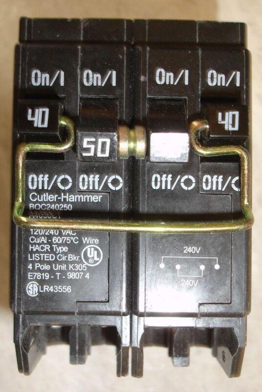 New Quad Circuit Breaker 240/250 BQC240250 type BRD  & A4050CT Challenger