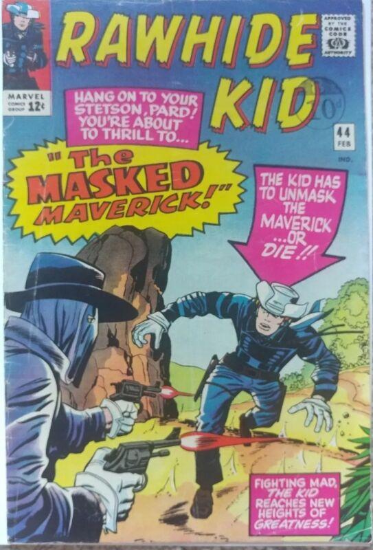 RAWHIDE KID #44 VG/FN 5.0 MARVEL 2/1965