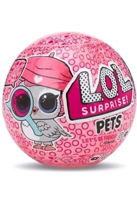 L O L Surprise  Series 4   Pets With Eye Spy Decoder   Real Lol Ball   Pre Order