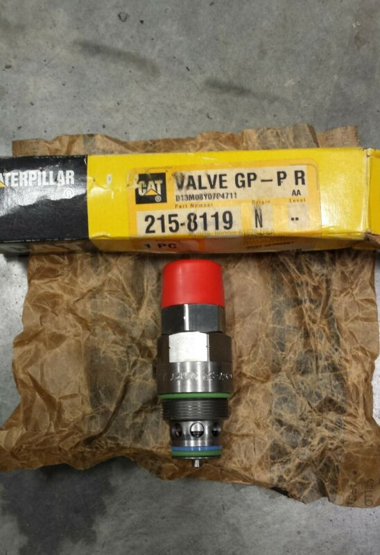 CAT Relief Valve Part# 215-8119