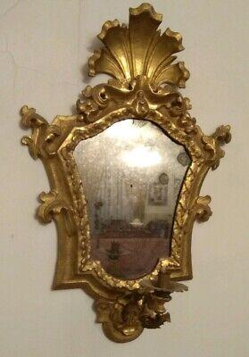 Antica coppia di specchiere Veneziane epoca 1700