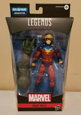 "Marvel Legends Gamerverse 6"" inch CAPTAIN MAR-VELL (BAF Abomination) IN STOCK!"