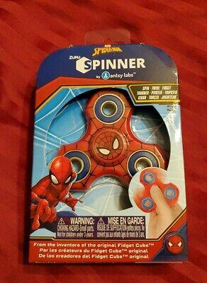 Marvel Avengers Zuru Fidget Spinner Spiderman NEW Fast Free Shipping