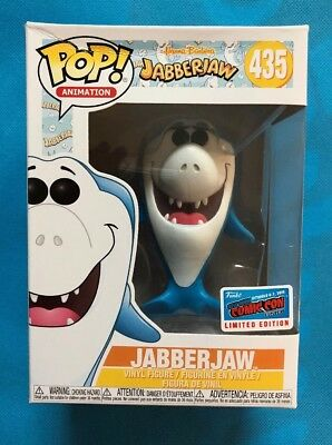 NYCC 2018 OFFICIAL STICKER Hannah Barbera JABBERJAW Jabber Jaw Shark Funko Pop! (Jabber Jaws)