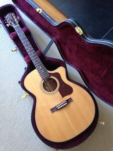 GUILD USA F-30CE Acoustic Electric Guitar Camberwell Boroondara Area Preview