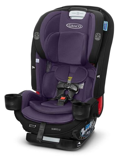 Graco Baby SlimFit3 LX 3-in-1 Child Safety Harness Booster Car Seat Katrina NEW