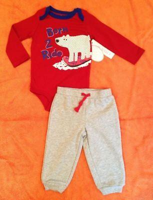 NWT Koala Baby Polar Bear LS Bodysuit & Warm Pants WINTER Outfit Boy 24 months](Koala Bear Outfit)