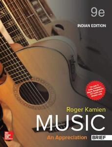Roger kamien music an appreciation ebay music an appreciation 9e by roger kamien fandeluxe Choice Image