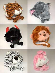 Winter-Animal-Hat-Plush-Warm-Fluffy-Cute-Soft-Fuzzy-Cartoon-Cap-Lovely