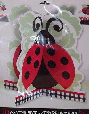 Lady Bug Party (Unique Ladybug Lady Bug Birthday Party 3D Centerpiece)