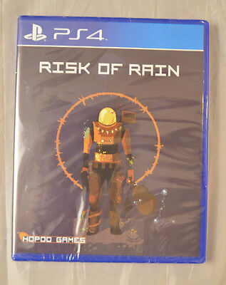 Risk of Rain Sony Playstation 4 PS4 New Limited Run Games LR-P33 Sealed New