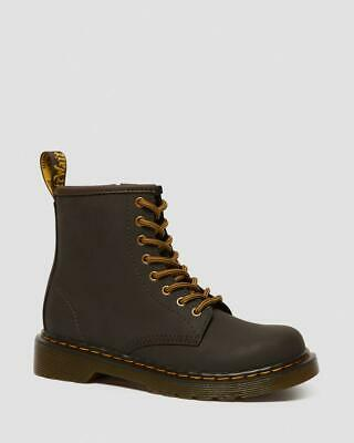 Dr. Martens // JUNIOR 1460 WILDHORSE LEATHER LACE UP BOOTS #25676207