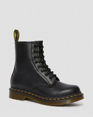 Dr Martens Sizing (Dr. Martens Women's 1460 8-Eye Smooth Leather Lace Up Boots Size 8 100%)