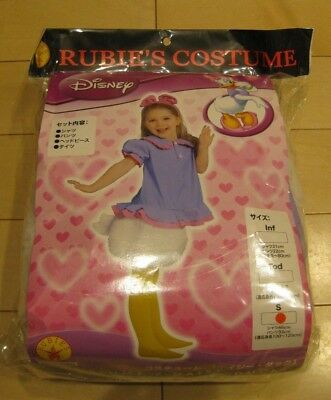 Disney Children Kids Daisy Duck Costume S 100-120cm Halloween Party F/S - Daisy Duck Kids Costume
