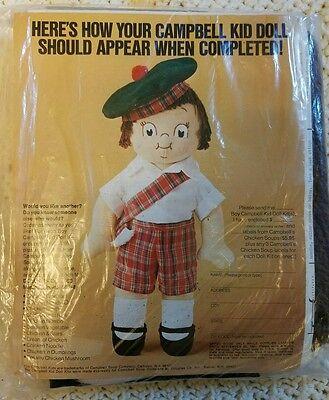 Campbell Soup Kid Boy Doll Kit St Patty Outfit Scottish Beret Tartan Plaid](St Pattys Outfits)
