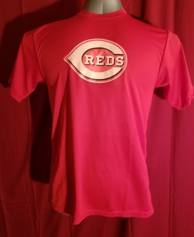 Cincinnati Reds MLB Baseball Shirt Adult Medium Moisture Control Fabric