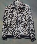 Polyester Windbreaker Leopard for Women