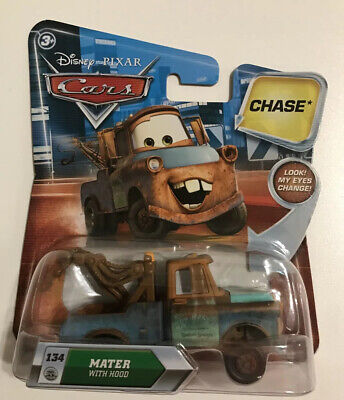 Disney Pixar Cars Chase Mater With Hood Diecast 134