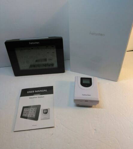 Wireless Weather Station Barometers Indoor/Outdoor Temperature Humidity Monitor