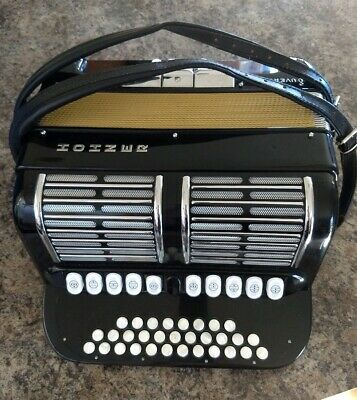 Hohner Diatonic Accordion Model Overture V / Top Club Model Accordion