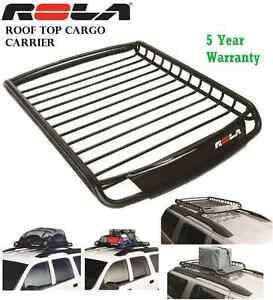 ROLA 59504 ROOF TOP VORTEX CARGO LUGGAGE CARIER RACK CAR SUV VAN 5 YEAR WARRANTY
