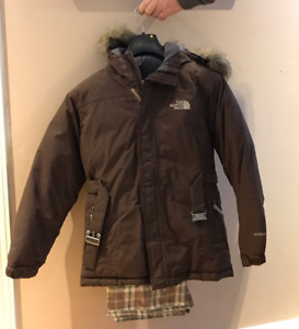 "North Face Jacket  - Child""s Large + Firefly Snow Pants (10)"