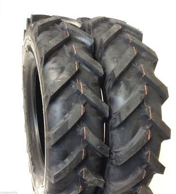 Set Of Two 600x14 6.00x14 600-14 6.00-14 R-1 Lug Farm Tractor Tire 6-14