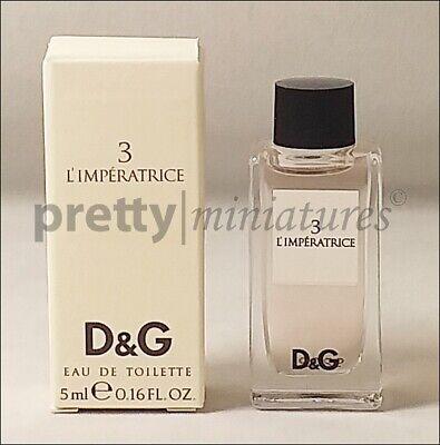 ღ 3 L'Imperatrice - D&G - Miniatur EDT 5ml