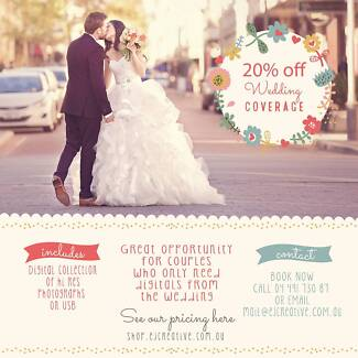 Wedding photography and videography. 20% off wedding coverage! Nedlands Nedlands Area Preview