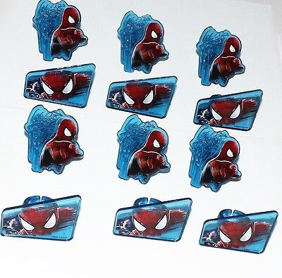 Spiderman Cupcake Rings by DecoPac Cake Decoration Party Favors Bakery Supply