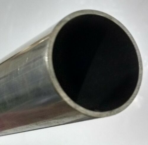"2205 Stainless Steel Welded Tube, 22-23% Chromium, 1"" OD x 0.049"" Wall x 12"""