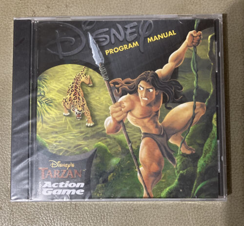 Computer Games - Disney's Tarzan Action Game CD-ROM PC, 1999 SEALED Computer Game Jewel Case