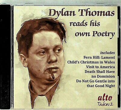 DYLAN THOMAS Reads His Own Poetry (The Best of Poems) CD Fern