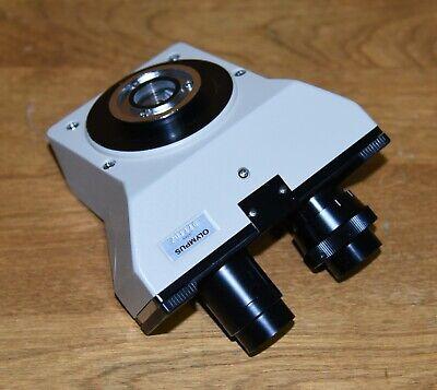 Olympus Ch Ch2 Binocular Microscope Head Ch-bi45-w W Great Optics Shape