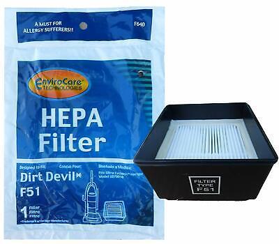 Dirt Devil F640, 304008002 F51 Upright Vacuum Cleaner Hepa Filter ()