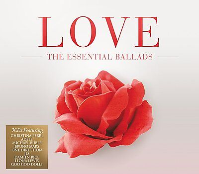Love  The Essential Ballads  3 Cds  2012  Sony Music Uk  New    60 Songs  Adele