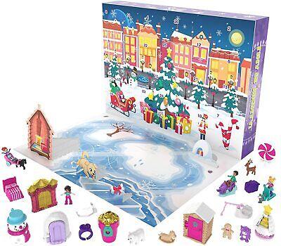 Advent Calendar Featuring a Winter Wonderland Holiday Theme & 25 Surprises