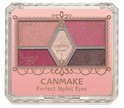 Popular color canmake Perfect stylist eyes No.14 antique ruby 3g From  Japan