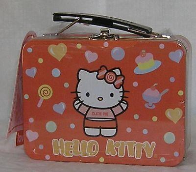 Hello Kitty Valentine Tin 20 Cards Envelopes Seals 2004 SEALED NWT Sanrio