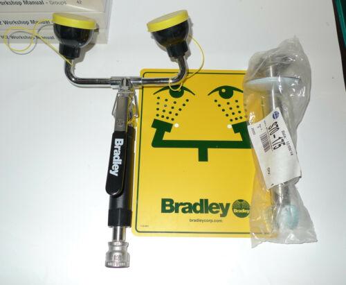 Bradley S19-460EFW Deck Mount Dual Head Eye Face Wash