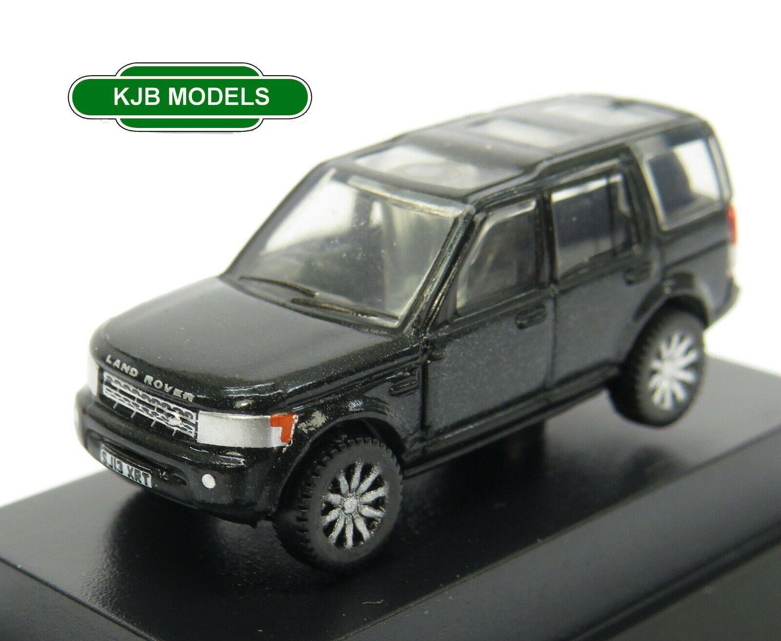BNIB N GAUGE OXFORD DIECAST 1:148 NDIS002 Land Rover Discovery 4 Santorini Black