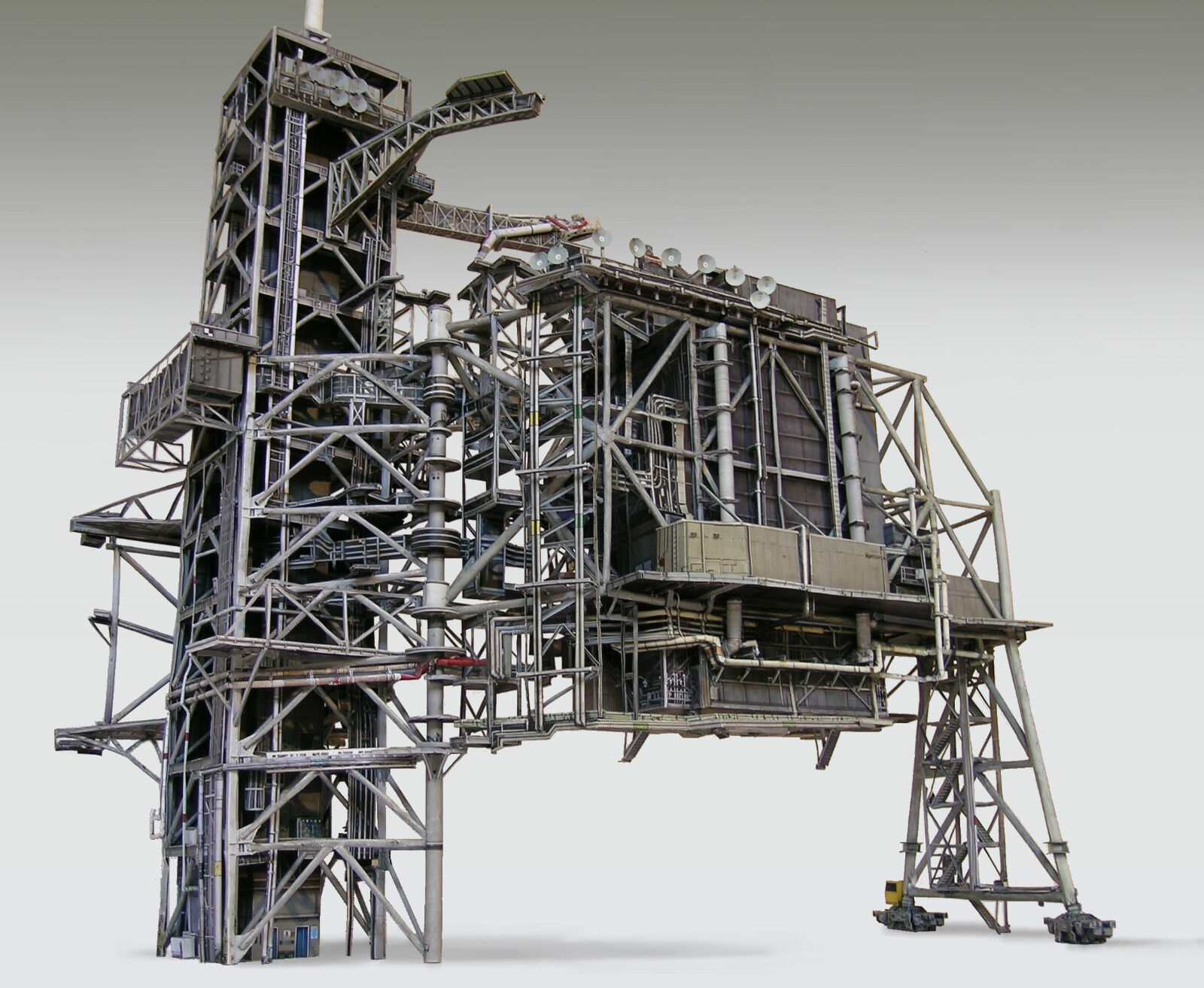 Space Shuttle Launch Pad Complex 39A Model Kit 4 Revell or ...