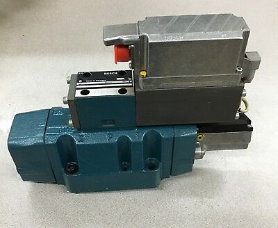 New Bosch 0811404607 Hydraulic Proportional Valve With 0811404305 Rexroth