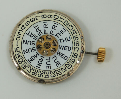 AS 2066 - 17J Auto - Black Day /Black Date movement - parts or repair