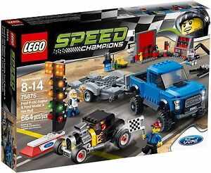 lego car race set (opened-box)