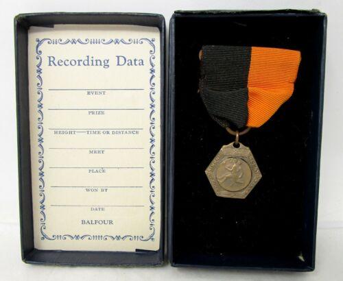 Ashland Kiwanis Relay Carnival Medal with Ribbon 1931 Balfour Original Box