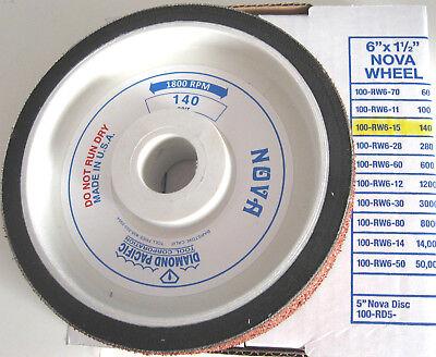"rle 6"" NOVA 140 GRIT WHEEL, GENUINE DIAMOND PACIFIC for GENIE OR CABKING for sale  Camarillo"