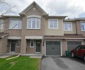 Mint Townhome Like New Avail Aug 1, Barrhaven
